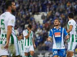 El Espanyol lleva cuatro derrotas seguidas. EFE/Archivo