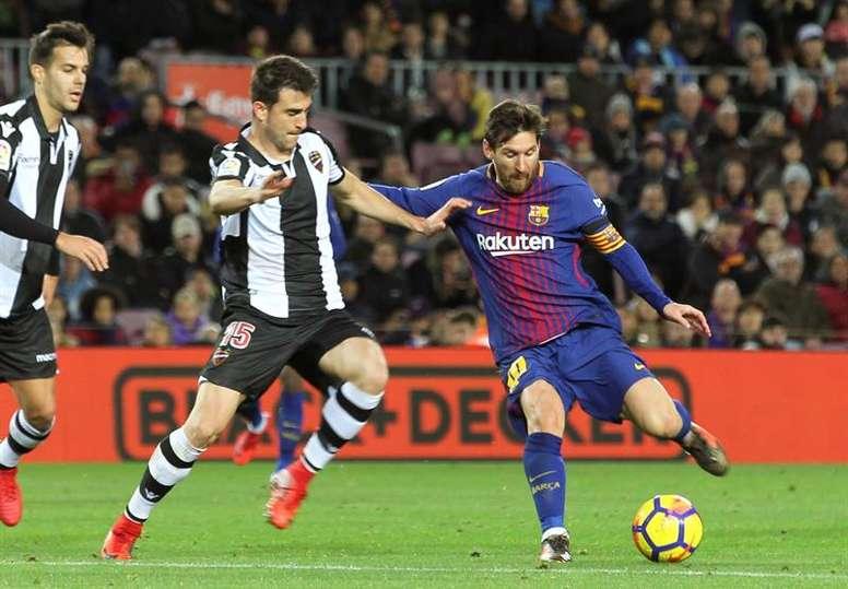 Messi preocupa o Eibar. EFE/Archivo