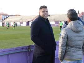 Ronaldo ajudará criança brasileira com artrofia sorteando uma viagem a Valladolid. EFE