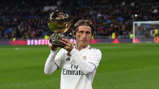 Modric não foi indicado ao prêmio desse ano. EFE