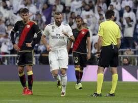 Karim fue la única nota positiva del Madrid. EFE
