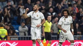 Benzema estará ante el Sevilla. EFE