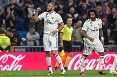 Benzema a donne trois points à Madrid. EFE