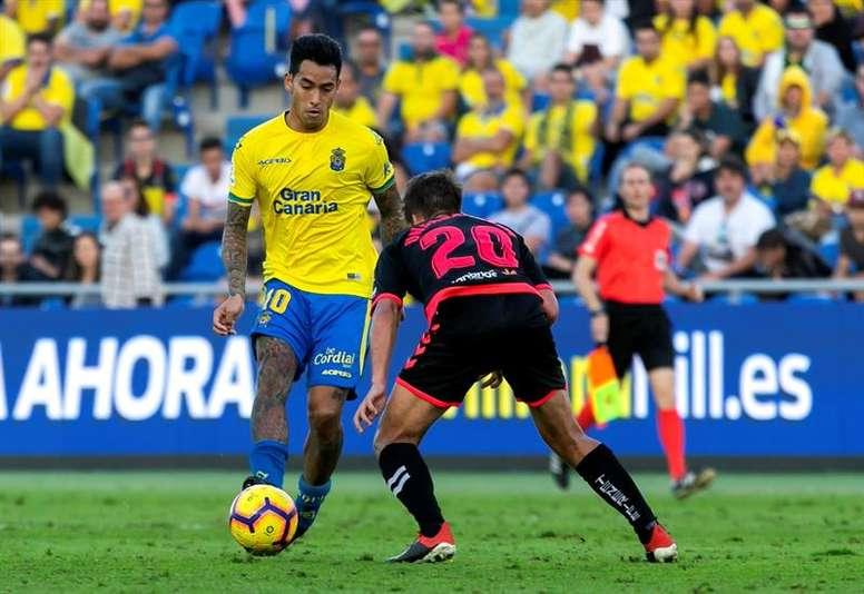 Las Palmas pierde a Araujo para tres meses. EFE