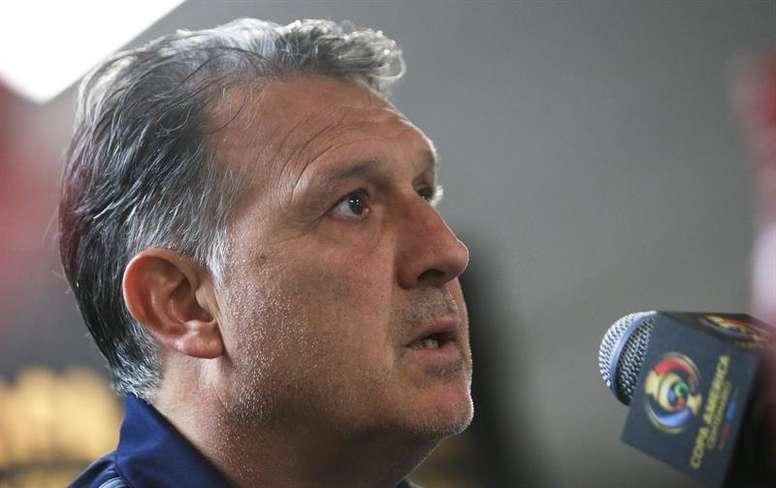 Gerardo 'Tata' Martino será el nuevo seleccionador mexicano. EFE