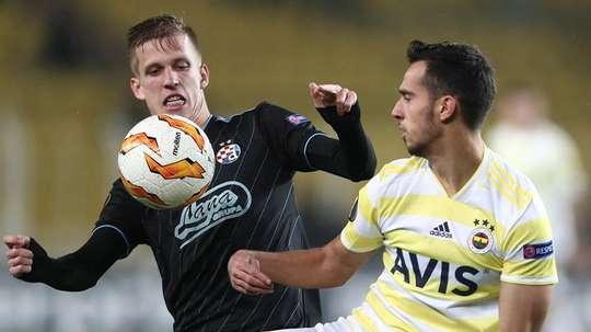 Dani Olmo, une option sérieuse pour le Napoli. EFE