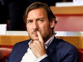 O motivo de Totti para deixar a Roma. EFE