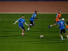 Vinicius afronta su primer Mundial de Clubes. EFE