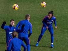 El Atlético prepara el último partido de la temporada. EFE