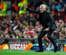 Mourinho ha sido despedido del United. EFE