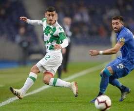 Herrera falou sobre o desafio da Taça de Portugal e admitiu que só pensa na vitória. EFE