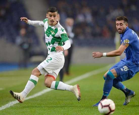 O Moreirense e o Porto empataram a uma bola. EFE