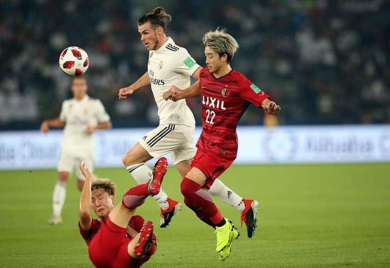 Gareth Bale fue el protagonista absoluto del partido. EFE