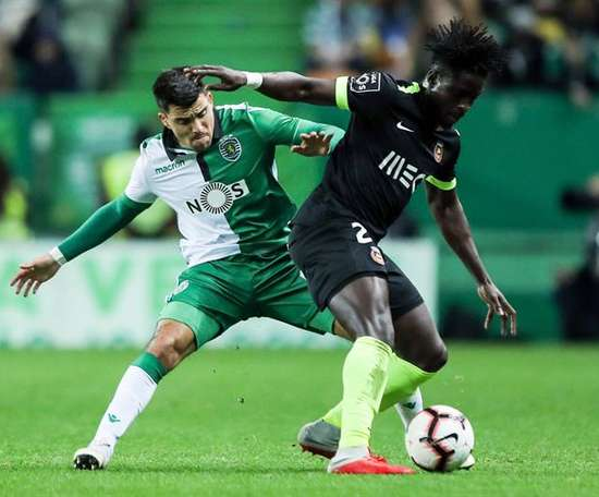 Acuña pode sair do Sporting. EFE