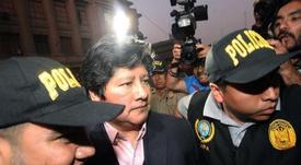 Un juez resolverá el pedido de prisión preventiva contra el presidente de la FPF. EFE