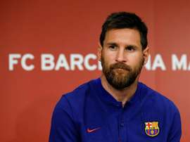 Messi segue na ponta. EFE/Archivo