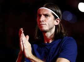 Filipe Luis still has to decide on his future. EFE/Archivo
