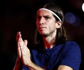 Filipe Luis will be making a decision regarding his future soon. EFE
