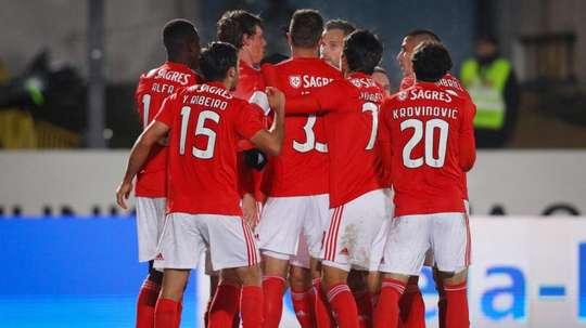 El Benfica espera rival en semifinales. EFE