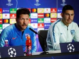 Para o treinador, Lucas Hernández é a ausência mais sentida. EFE/Archivo