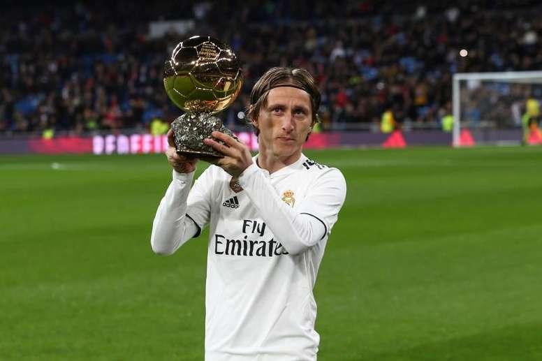 Modric remettra le Ballon d'Or 2019. EFE