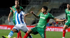 Willian José, sancionado con un partido. EFE