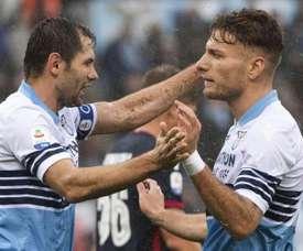 La Lazio se replace. EFE