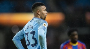Les compos probables du match de Premier League entre Crystal Palace et Man City. EFE