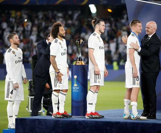 Kroos talked about the controversy over Gareth Bale. EFE/EPA