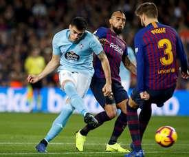 Les cinq favoris pour le numéro '9' du Barça. EFE