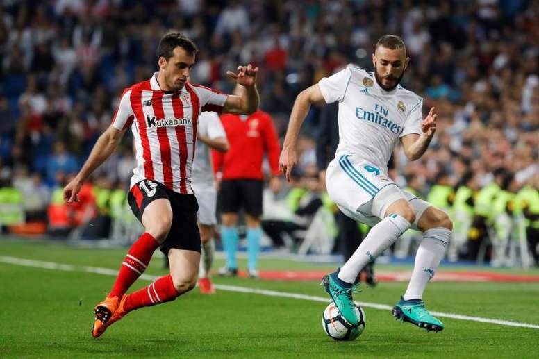 Lekue y Balenziaga lamentaron la oportunidad perdida por el Athletic. EFE