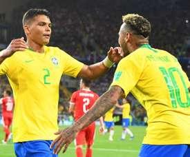 Pas de Copa America pour Thiago Silva. EFE