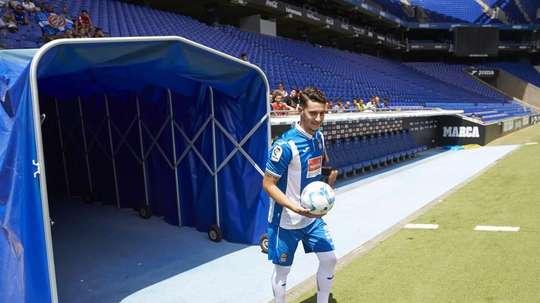 Accord total entre l'Atlético et l'Espanyol pour Hermoso. EFE