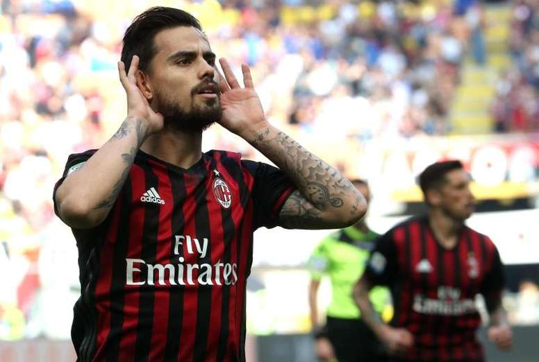 Could Suso be on his way out of Milan in the summer. EFE/Archivo