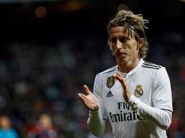 Luka Modric continua nos planos da Inter. EFE/Archivo