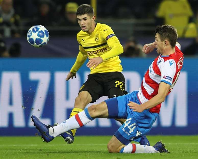Pulisic will talk to his new coach when the time is right. EFE