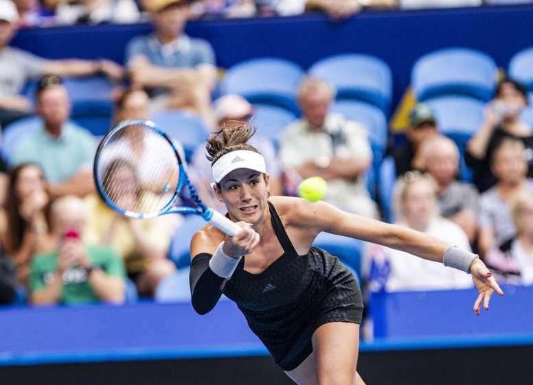 La tenista española Garbiñe Muguruza. EFE