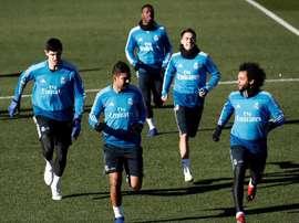 Courtois et Marcelo forfaits contre City !. EFE