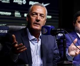 Alfaro pense que Banega pourrait signer à Boca. EFE