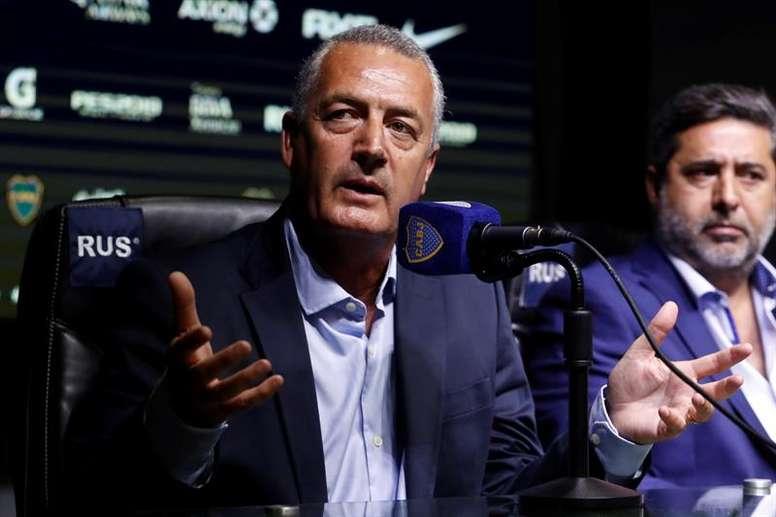 Alfaro habló tras el triunfo ante Aldosivi. EFE