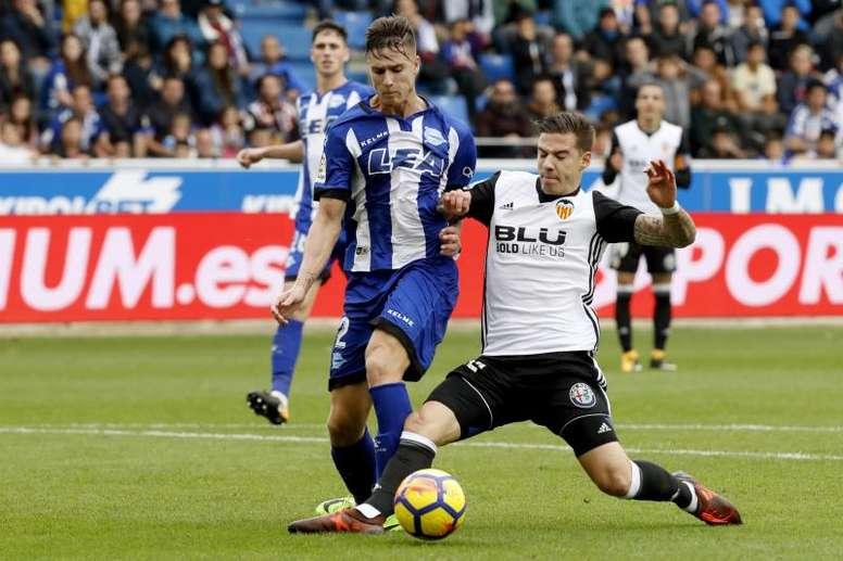 Vigaray, nuevo jugador del Zaragoza. EFE