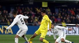 El equipo amarillo aguantó sin perder ante el Madrid. EFE