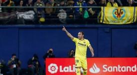 Santi Cazorla acabó la temporada convocado con la Selección Española. EFE