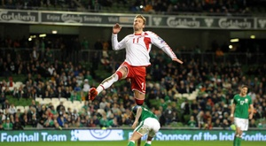 False cocaine and almost sexual abuse, the hard story Bendtner revealed. EFE/Archivo