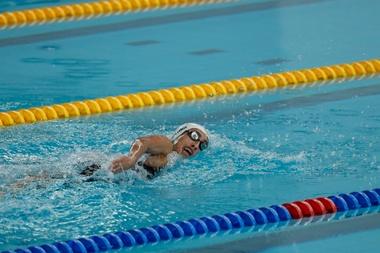 Los Mundiales de natación, en julio en Kuching (Malasia), y los de atletismo, en noviembre en Dubai, son las dos grandes citas del calendario paralímpico de 2019. EFE/Archivo