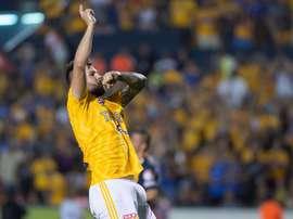 Gignac marcó el gol de la victoria. EFE