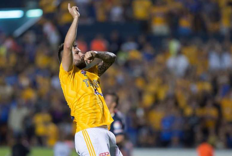 Gignac aurait pu jouer à Boca. EFE/Archive