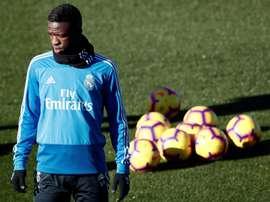 Vinicius vai conquistando o Bernabéu. EFE/Archivo