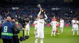Ramos a pris la parole. EFE