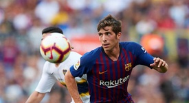 Sergi Roberto está satisfecho con la continuidad de Valverde. EFE